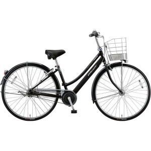 【防犯登録サービス中】ブリヂストン シティサイクル自転車 アルベルト A65LB F.ピアノブラック|trycycle