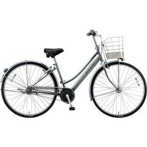 ブリヂストン シティサイクル自転車 アルベルト A65LB M.スパークルシルバー|trycycle