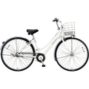 ブリヂストン シティサイクル自転車 アルベルト A65LB P.シャンパンホワイト|trycycle
