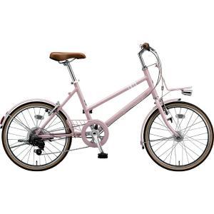 【防犯登録サービス中】ブリヂストン シティサイクル自転車 マークローザM7 MR07ST EXサンドピンク|trycycle
