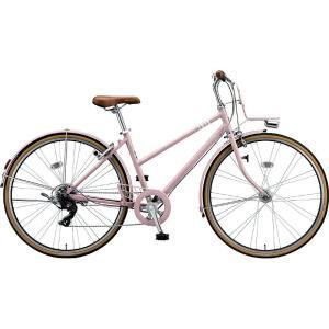 【防犯登録サービス中】ブリヂストン シティサイクル自転車 マークローザ7S MR77ST EXサンドピンク|trycycle