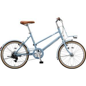 ブリヂストン ミニベロ マークローザ MRK07T TXマットブルーグレー trycycle