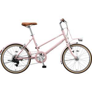 ブリヂストン ミニベロ マークローザ MRK07T EXサンドピンク trycycle