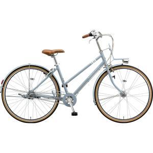 ブリヂストン シティサイクル マークローザ MRK73T TXマットブルーグレー trycycle