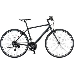 ブリヂストン クロスバイク シルヴァ YF2444 マット&グロスブラック 440mm|trycycle