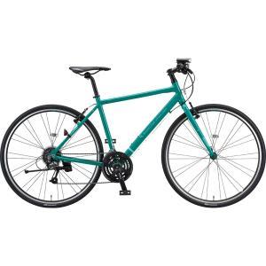 ブリヂストン クロスバイク シルヴァ YF2444 EXコバルトグリーン 440mm|trycycle