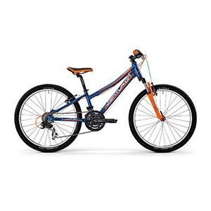 送料無料 センチュリオン(CENTURION) 子供自転車 R-BOCK 24 SHOX-V ネイビー ブルー 【完全組立済自転車】【北海道、九州、沖縄、離島は送料別】|trycycle