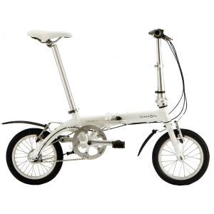送料無料 DAHON(ダホン) 折りたたみ自転車 Dove i3 パールホワイト 【北海道、九州、沖縄、離島は送料別】|trycycle