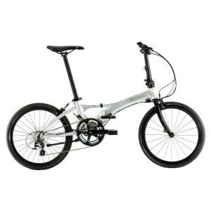 送料無料 DAHON(ダホン) 折りたたみ自転車 Visc EVO ブライトシルバー 【北海道、九州、沖縄、離島は送料別】|trycycle