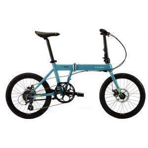 送料無料 DAHON(ダホン) 折りたたみ自転車 Horize Disc マリンブルー 【北海道、九州、沖縄、離島は送料別】|trycycle