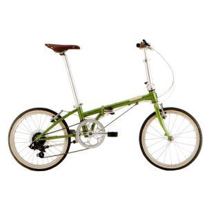 送料無料 DAHON(ダホン) 折りたたみ自転車 Boardwalk D7 グリーンティ 【北海道、九州、沖縄、離島は送料別】|trycycle