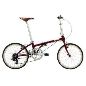 送料無料 DAHON(ダホン) 折りたたみ自転車 Boardwalk D7 ボルドー 【北海道、九州、沖縄、離島は送料別】|trycycle