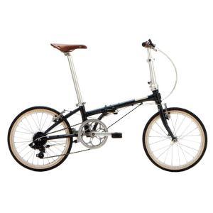 送料無料 DAHON(ダホン) 折りたたみ自転車 Boardwalk D7 チャコールグレー 【北海道、九州、沖縄、離島は送料別】|trycycle