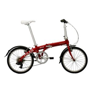 送料無料 DAHON(ダホン) 折りたたみ自転車 Route ルビーレッド 【北海道、九州、沖縄、離島は送料別】|trycycle