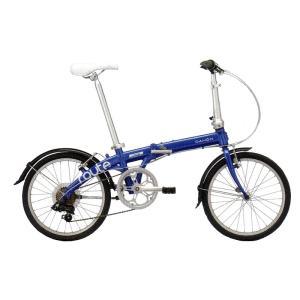 送料無料 DAHON(ダホン) 折りたたみ自転車 Route コバルトブルー 【北海道、九州、沖縄、離島は送料別】|trycycle