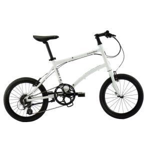 送料無料 DAHON(ダホン) 折りたたみ自転車 Dash P8 フロスティホワイト 【北海道、九州、沖縄、離島は送料別】|trycycle