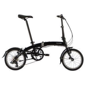 送料無料 DAHON(ダホン) 折りたたみ自転車 Curve D7 オブシディアンブラック 【北海道、九州、沖縄、離島は送料別】|trycycle