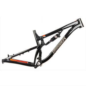 送料無料 DMR MTBフレーム SLED FRAME SML BLACK ORANGE|trycycle