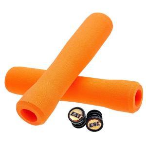 ESIグリップ(ESIgrips) エルゴノミック グリップ FIT CR Orange|trycycle