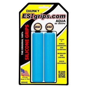 ESIグリップ(ESIgrips) グリップ Chunky Aqua|trycycle