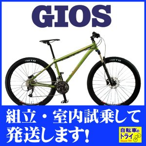 GIOS(ジオス) マウンテンバイク DAGGER 9 LIME trycycle