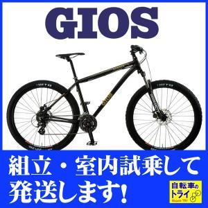 GIOS(ジオス) マウンテンバイク DAGGER 8 MATT BLACK trycycle