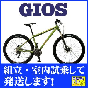 GIOS(ジオス) マウンテンバイク DAGGER 8 LIME trycycle