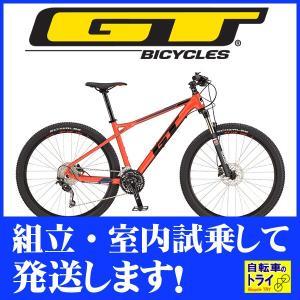 送料無料 GT マウンテンバイク MTB AVALANCHE COMP (27.5) レッド 2019 【北海道、九州、沖縄、離島は送料別】 trycycle