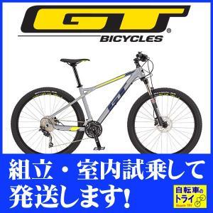 送料無料 GT マウンテンバイク MTB AVALANCHE COMP (27.5) グレー 2019 【北海道、九州、沖縄、離島は送料別】 trycycle
