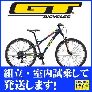 GT キッズ 子供用自転車 STOMPER PRIME 26 U スレートブルー 2019|trycycle