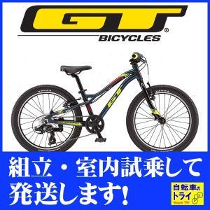 GT キッズ 子供用自転車 STOMPER PRIME 20 U スレートブルー 2019|trycycle