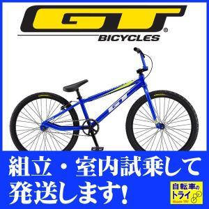 GT キッズ 子供用自転車 MACH ONE PRO 24 M ブルー 2019|trycycle
