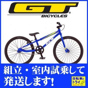 GT キッズ 子供用自転車 MACH ONE MINI 20 M ブルー 2019|trycycle