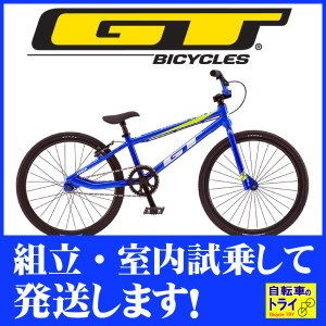 GT キッズ 子供用自転車 MACH ONE JUNIOR 20 M ブルー 2019|trycycle