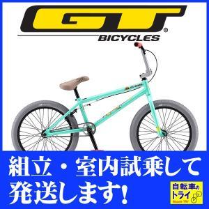 GT BMX PERFORMER 20 M 20.5 グリーン 2019|trycycle