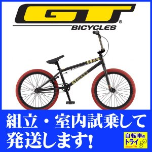 GT BMX AIR 20 M ブラック 2019|trycycle