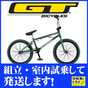 GT BMX SLAMMER 20 M グリーン 2019|trycycle