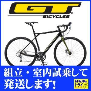 送料無料 GT ロードバイク GRADE ALLOY COMP (700C) ブラック 2019 【北海道、九州、沖縄、離島は送料別】|trycycle