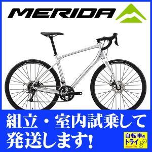 送料無料 メリダ(MERIDA) ロードバイク SILEX 200 マットシルバー  【北海道、九州、沖縄、離島は送料別】|trycycle