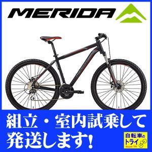メリダ(MERIDA) マウンテンバイク BIG SEVEN 20-MD マットブラック BM702389-EK69 trycycle