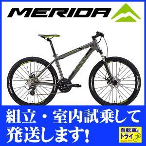 メリダ(MERIDA) マウンテンバイク MATTS 6.10-MD シルクアンスラサイト BM610379-ES54 trycycle
