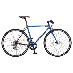 ミヤタ(MIYATA) フラットハンドルロードバイク フリーダム フラット AFRT488/528 ブルー/ブラック trycycle