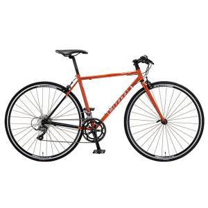 ミヤタ(MIYATA) フラットハンドルロードバイク フリーダム フラット AFRT528 (カッパーオレンジ/ブラック|trycycle