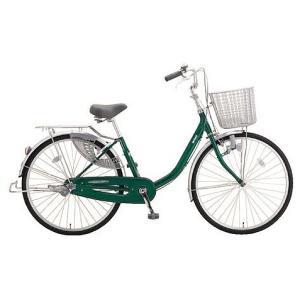 ミヤタ(MIYATA) シティサイクル アルミスター(変速なし) DAU6091ネオフォレストグリーン|trycycle