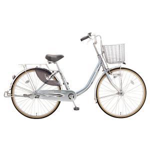 ミヤタ(MIYATA) シティサイクル クォーツエクセルライト DQXU60L81 ミラーシルバー|trycycle