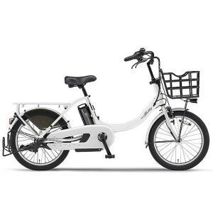 ヤマハ パス 電動アシスト自転車 PAS Babby un ピュアホワイト PA20BXL|trycycle