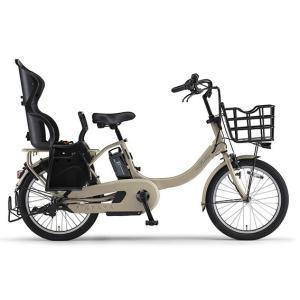 ヤマハ パス 電動アシスト自転車 PAS Babby un SP マットカフェベージュ PA20BSPR|trycycle