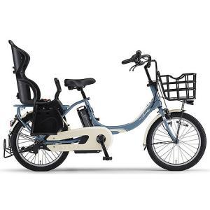 ヤマハ(YAMAHA) 電動自転車 パス バビーアン Babby un シート付き PA20BXLR パウダーブルー2|trycycle