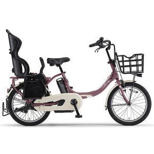 ヤマハ(YAMAHA) 電動自転車 パス バビーアン Babby un シート付き PA20BXLR ワインレッド|trycycle