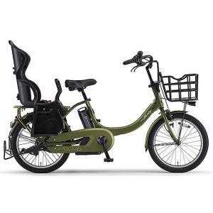 ヤマハ(YAMAHA) 電動自転車 パス バビーアン Babby un シート付き PA20BXLR ディープフォレスト|trycycle